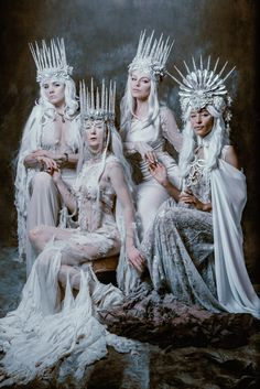 Magical & Fantasy Art, Photography & Design/Court of the Wynter Witches - Jessica Dru/Chad Michael Ward Photography Ice Queen Costume, Character Inspiration, Character Design, Creature Of Habit, 3d Fantasy, Fantasy Photography, Halloween Disfraces, Cosplay, Snow Queen