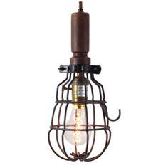 Hanging Cage Lamp