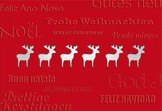 Weihnachtskarten Nr 4102 / mit Stanzung - die Weihnachtskarte