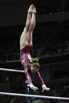 Rebecca Bross. Credit: Heather Maynez!  AWESOME! my fav thing in gymnastics is, bars