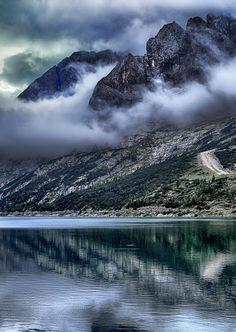 Essence of Nature: Fedaia lake, Italy