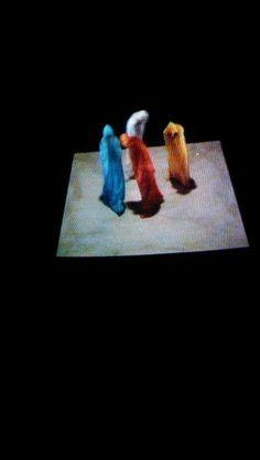 Arena Quad; Samuel Beckett; Video Vintage; Video Art; 1980/1981 in German