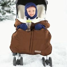 love this ......what a way to keep baby warm.