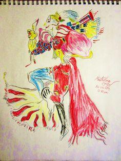 A kefka drawing