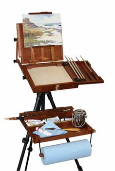 Sienna Plein Air Pochade Box - Click to enlarge