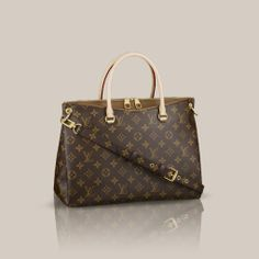 Louis Vuitton Pallas in Havane.  Practical, Luxurious, Perfect!!!