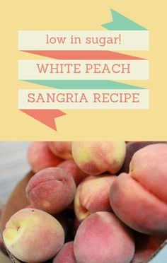 You can enjoy your favorite cocktails without all the added sugar. Find out why ripe fruit is the secret to this Sparkling White Peach Sangria recipe. http://www.foodus.com/today-show-strawberry-sparkling-white-peach-sangria-recipe/