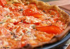 Est-ce qu'une tarte à la tomate et au thon, ça vous tente ? Ultra simple, je la fais tout le temps ! :) => http://ow.ly/hZ1K3029Td1   Bonne soirée :*