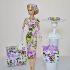 "OOAK Handmade Vintage Barbie/Silkstone Fashion by Roxy- "" LILA """