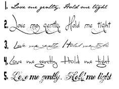Výsledok vyhľadávania obrázkov pre dopyt písmo na tetovanie