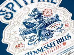 Spitfire Vodka / Tennessee Hills by Srdjan Vidakovic