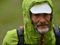 A Minimus jacket being put to test on the MONTANE® Lakeland 100 race.