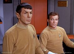 "STAR TREK: Where No Man Has Gone Before | Kirk: ""I believe there's some hope for you after all, Mr Spock."""