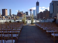 Guitar and Cello Wedding Ceremony Music on Tribeca Rooftop