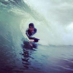 body surf in Kamchatka
