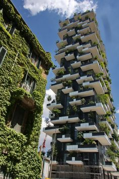 Bosco Verticale in Milano by Stefano Boeri