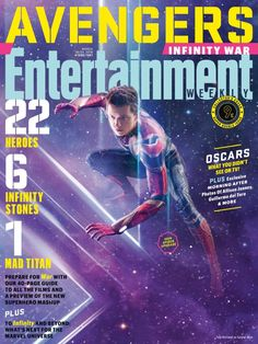 'Avengers: Infinity War' Magazine Covers For 'Entertainment Weekly' Feature Every Key Hero And Villain – Page 3 – therealstanlee.com #SpiderMan