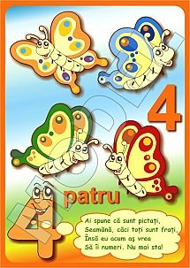 PLANSE COLORATE CU CIFRE PENTRU COPII PRESCOLARI Math, 1st Grades, Math Resources, Early Math, Mathematics