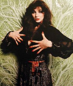 The authentic, which others still try to replicate, Kate Bush.