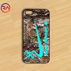 Just Shoot it Camo Nike Case fit for iPhone 5 5s 5c 6 6plus iPod 5 Plastic Case