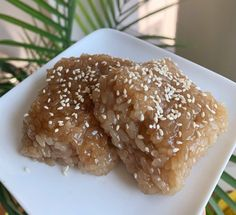 Biko Recipe, Small Rice Cooker, Cup Of Rice, Toasted Sesame Seeds, Glutinous Rice, Canned Coconut Milk, Rice Cakes, Sandwich Cookies, Original Recipe