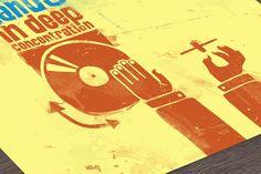 Digitaldruck - Deep Concentration (Dirty Version) - ein Designerstück von DiplomatOfStyle bei DaWanda