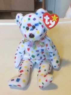 "Beanie Baby ""Ty 2K"" With RARE TUSH TAG PERFECT CONDITION #Ty Ebay Web, Original Beanie Babies, Dinosaur Stuffed Animal, Sunshine, Conditioner, The Originals, Toys, Baby, Animals"