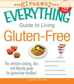 Giveaway: The Everything Guide to Living Gluten-Free