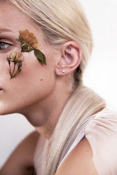 flower face.