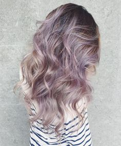 nice Most Subtle Cool Hair Color -Smoky Lilac Hair Color Purple Balayage, Dye My Hair, Grunge Hair, Cool Hair Color, Hair Colors, Crazy Hair, Ombre Hair, Hair Inspiration, Cool Hairstyles