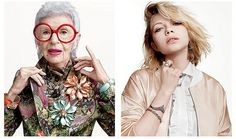 The Fashion Industry Gets It Right In This New Ad Featuring 18-Year-Old Tavi Gevinson And 93-Year-Old Iris Apfel   Read more: http://www.thegloss.com/2015/01/10/fashion/iris-apfel-tavi-gevinson-alexis-bittar-instagram-spring-ad-campaign/#ixzz3OWQQqdAw