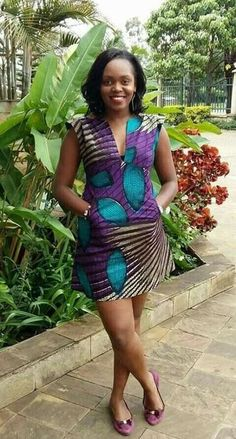 Looking for the best kitenge designs in Africa? See images of kitenge dresses and skirts, African outfits for couples, men's and baby boy ankara styles. Latest African Fashion Dresses, African Inspired Fashion, African Dresses For Women, African Print Dresses, African Print Fashion, Africa Fashion, African Attire, African Wear, African Prints