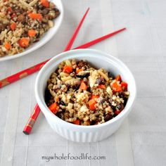 Easy Quinoa Stir Fry | My Whole Food Life