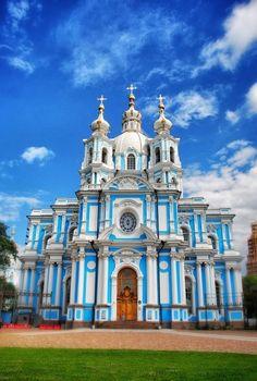 Smolny Cathedral – Saint Petersburg