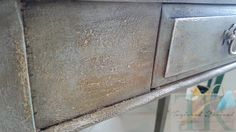 Finish completed by our workshop attendee in Our Bring Your Own piece workshop - creating a french rustic finish