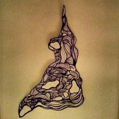 Pen draw Sculpture!