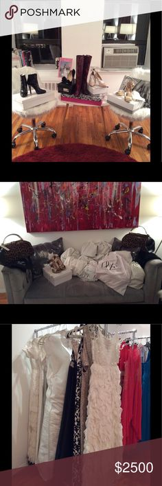All designer new with tags and gorgeous. Hello ladies,  If you love designer clothes at a wonderful price I'm clearing out my entire showroom on The UWS. Almost everything is new with tags. The gently loved items have been worn once and dry cleaned and are from my personal collection. Here is a list of designers and prices. Sipandshopnyc.com Other