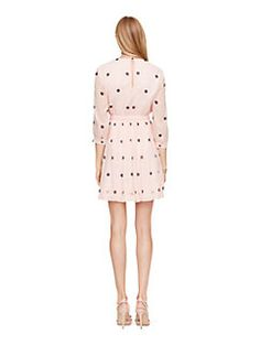 tiny spotlight pleated dress by kate spade new york