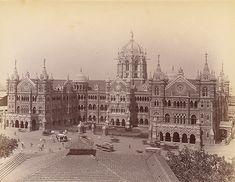 Victoria Terminus (aka Chatrapati Shivaji Terminus) built in 1887 Bombay