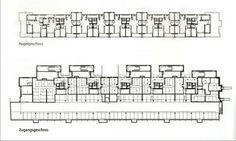 Wohnsiedlung Im Gut, Gutstrasse, Peter Maerkli, Social Housing, Architecture Plan, Metallica, Planer, Floor Plans, Flooring, How To Plan, Pj, Buildings