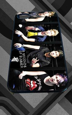 5 second of summer smile for iPhone 4/4s/5/5S/5C/6, Samsung S3/S4/S5 Unique Case *95*
