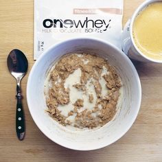 Breakfast ☀️ milk chocolate protein oatmeal made with 2tbsp milk chocolate isolate by @fitnessguru , 1/2 tsp unsweetend cocoa powder and 1 egg white. Topped with a protein sauce made with 1tbsp vanilla white chocolate whey by fitnessguru and some almond milk #healthybreakfast #oatmeal #oats #proats #proteinoatmeal #porridge #proteinporridge #haferbrei #haferflocken #proteinhaferbrei #proteinpowder #whey #onewhey# #onewheyisolate #fitnessguru #chocolateoatmeal #eathealthy #eattogrow ...