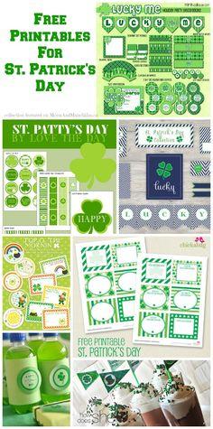 Free St. Patrick's Day Printables - Moms & Munchkins