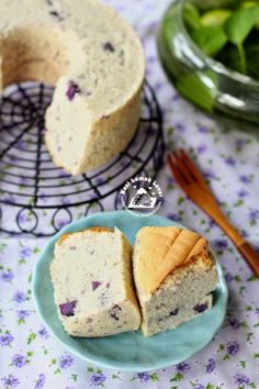 Nasi Lemak Lover: Purple sweet potato chiffon cake 紫薯戚风蛋糕