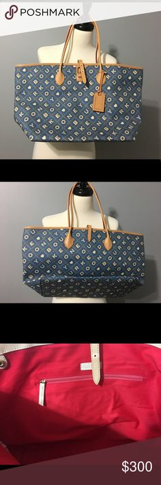 Authentic Dooney & Bourke Tote NWOT Dooney & Bourke Bags Totes