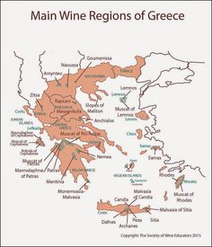 Main Wine Regions of Greece