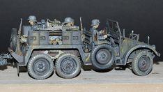 "Deutsche Krupp Protze ""Kfz.69"" Panzer, Armored Vehicles, Scale Models, Tanks, Dreaming Of You, Modeling, Monster Trucks, German, Miniatures"