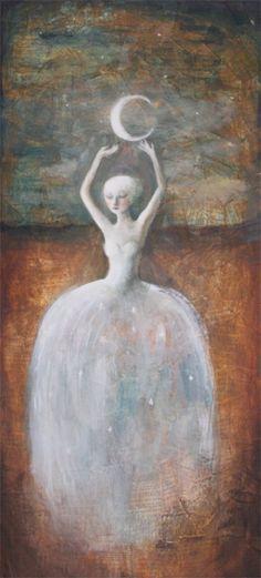 Juliette and the Moon by flea-sha.deviantart.com on @deviantART