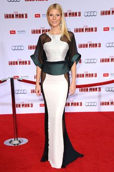 Gwyneth Paltrow at the Iron Man 3 LA premiere - LOVE