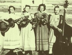 The Coon Creek Girls, of Pinch-em-Tight Hollow,KY made their broadcast debut on October 9, 1937.